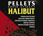 Carp Zoom Halibut Pellets 16mm átfúrt 10kg